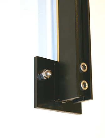 Ferric  side mount fastener by HDI Railing Systems
