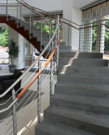 Stainless Steel Horizontal Rail Infill Hdi Railing Systems