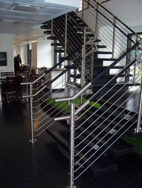 Kubit Glass Railing At Market Axess Nyc: CIRCUM™ Round Photo Gallery