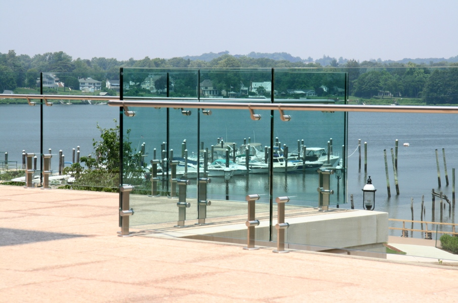 outdoor custom steel railing systems