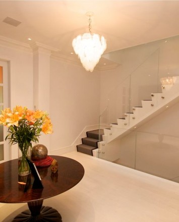 Private Residence, Washington DC, Optik guardrail with clear glass