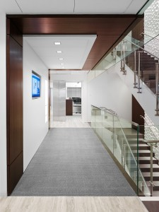 HDI Konic Railing award winning design foyer