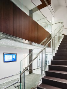 HDI Konic Railing award winning design staircase