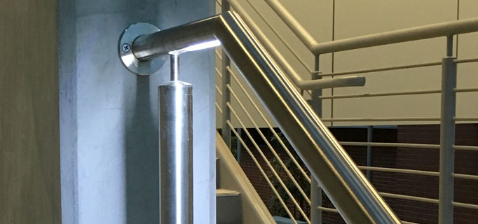 Commercial LED Handrail