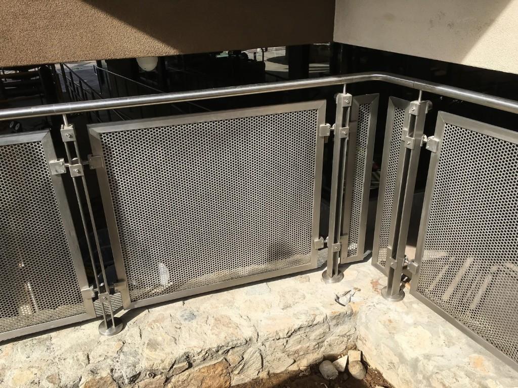 Stone and Steel HDI Railings