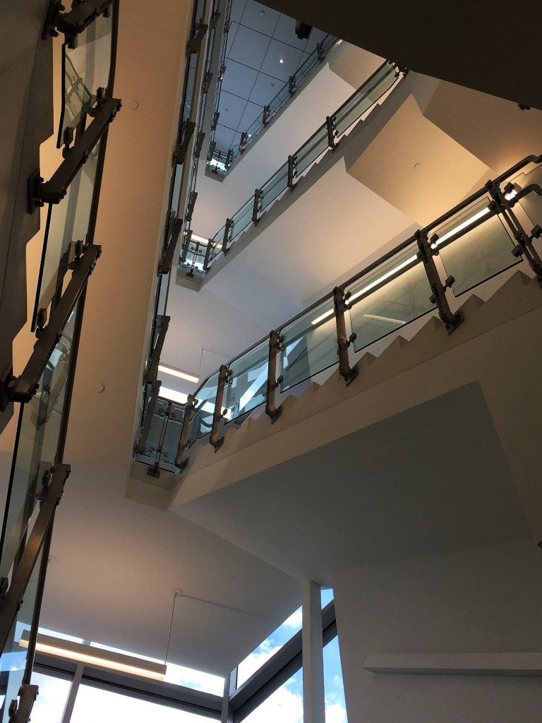 HDI's inox railing system at Rutgers University