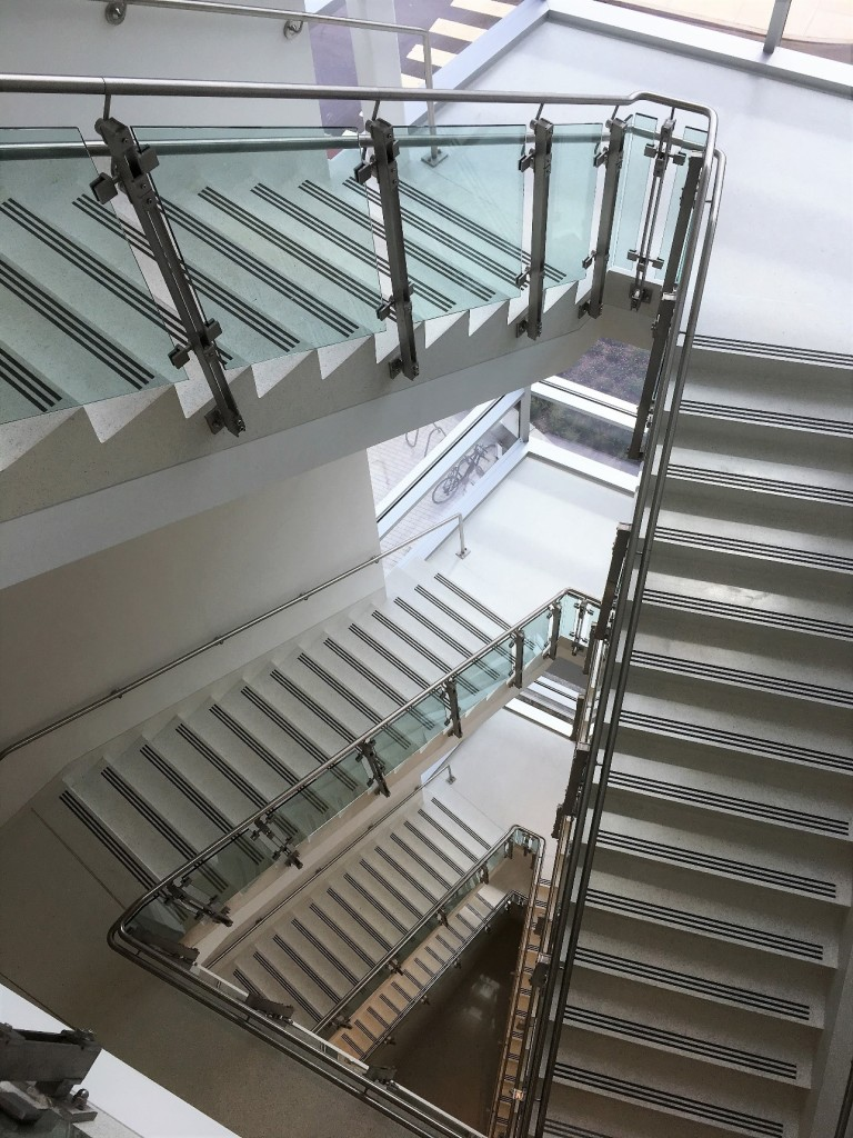 inox Railing System at Richard Weeks Hall of Engineering
