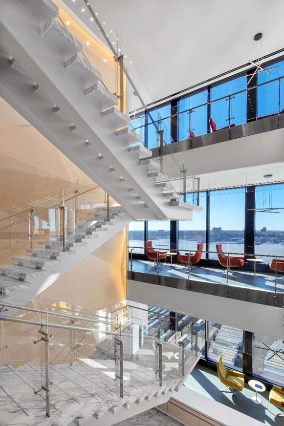 Kubit railings Hudson Yards