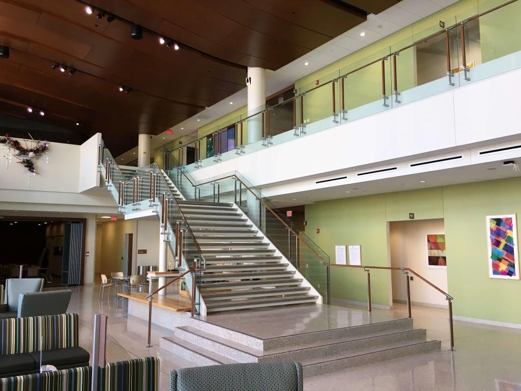 University of Wisconsin-Madison School of Nursing handrail
