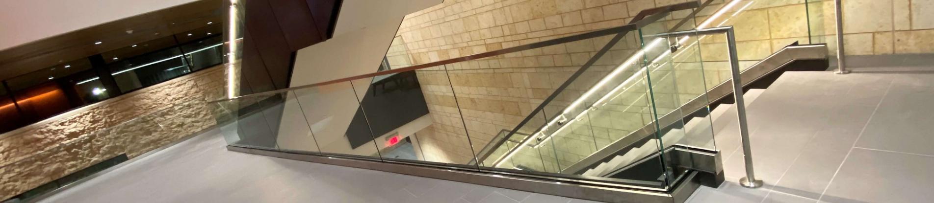 UTPB Engineering Building, TX installs HDI's Optik Shoe with LED