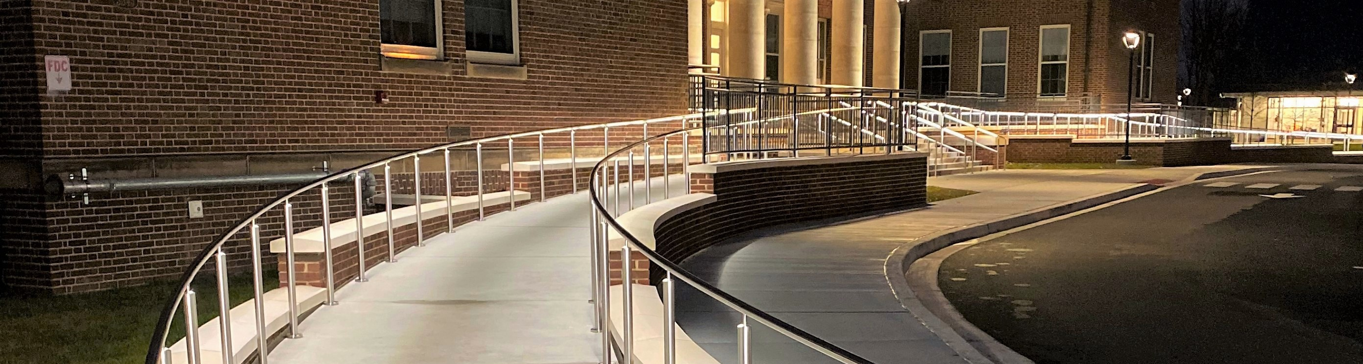 Maryland School for the Blind installs Circum LED to entrance area