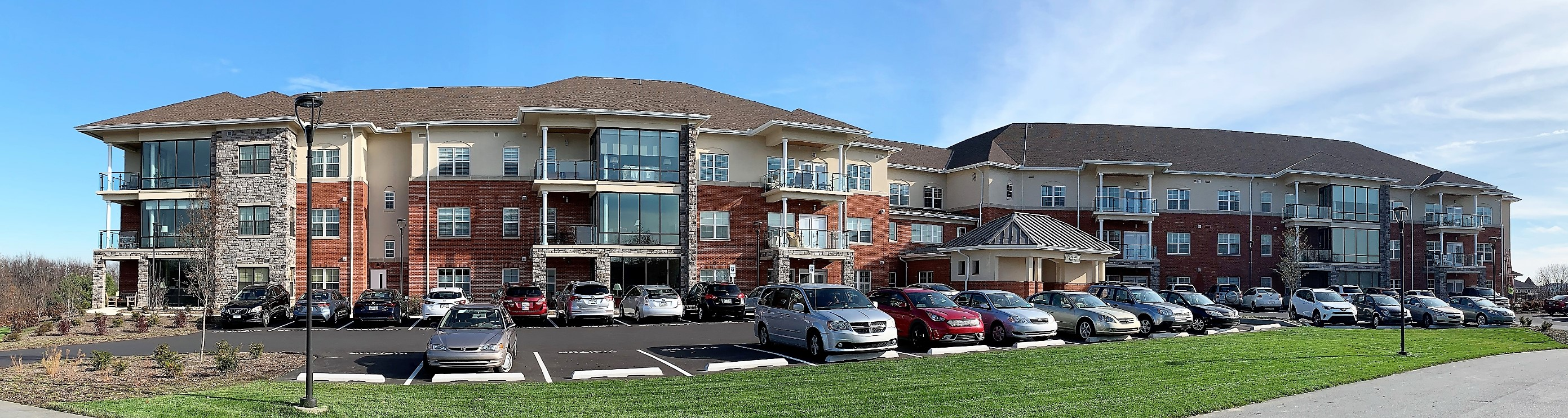 Woodcrest Villa complex adds Ferric railings to apartment balconies