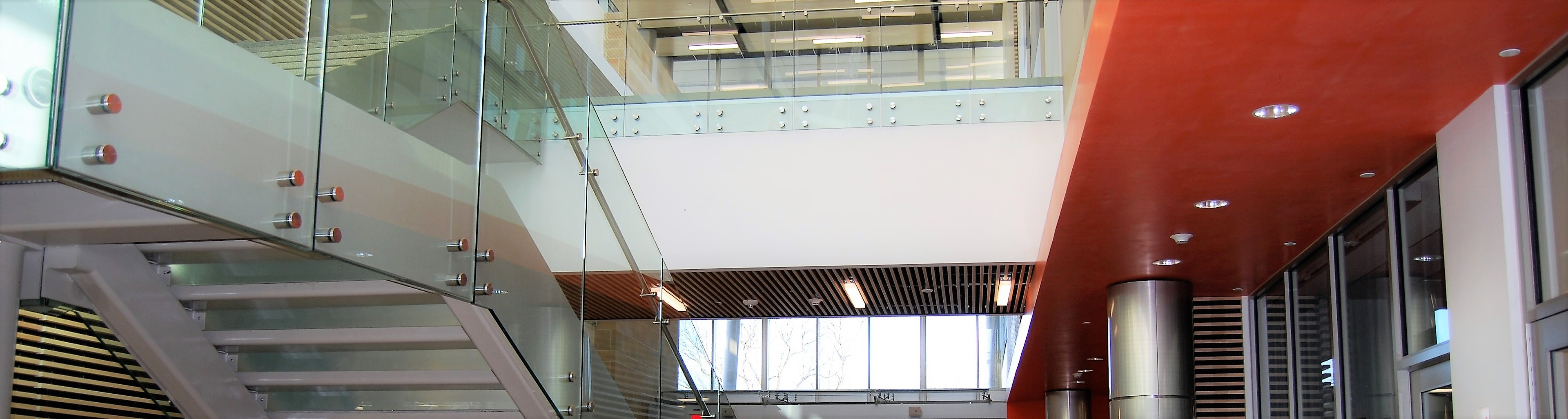 Wheaton Library installs Optik and Ferric railings in their new facility