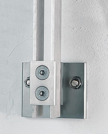 inox side mounted fastener