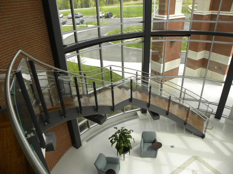 carbon steel railing systems