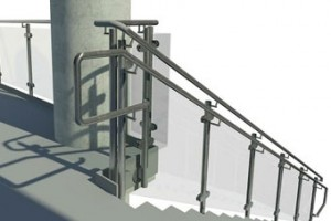 Revit software allows us to create full-hd models during the handrail design phase.