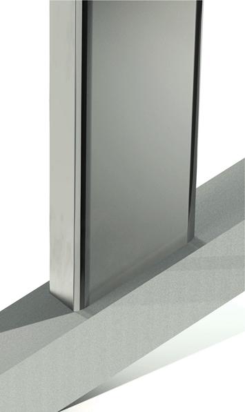 CIRCUM Square weld mounted fastener