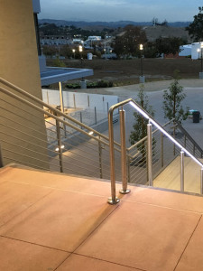 Stainless steel LED Railing System