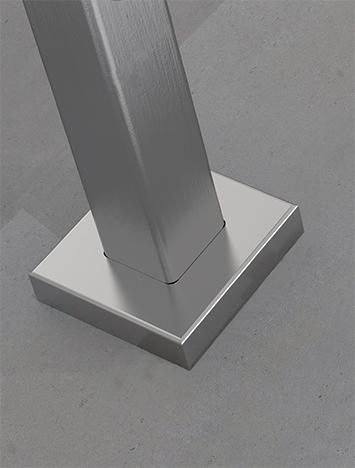 CIRCUM Square core mounted fastener